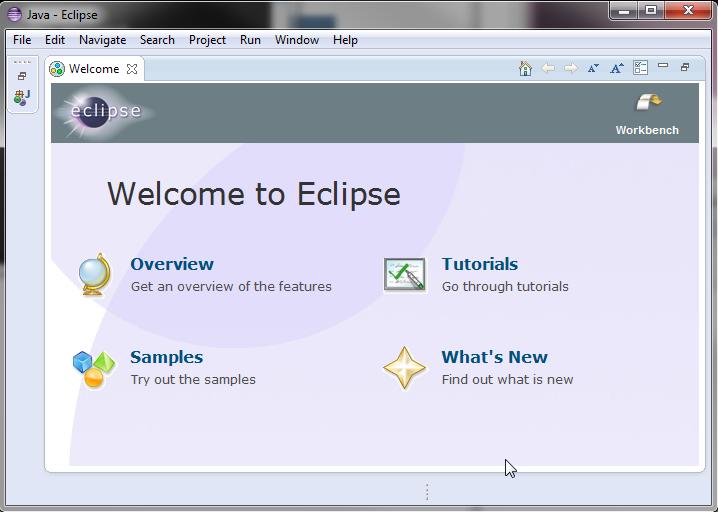 Launch Eclipse