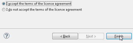 Eclipse PyDev Accept License