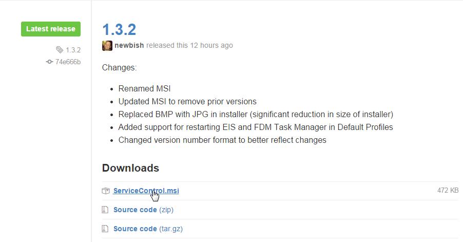 Download EPM Service Control