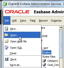 Open in EAS
